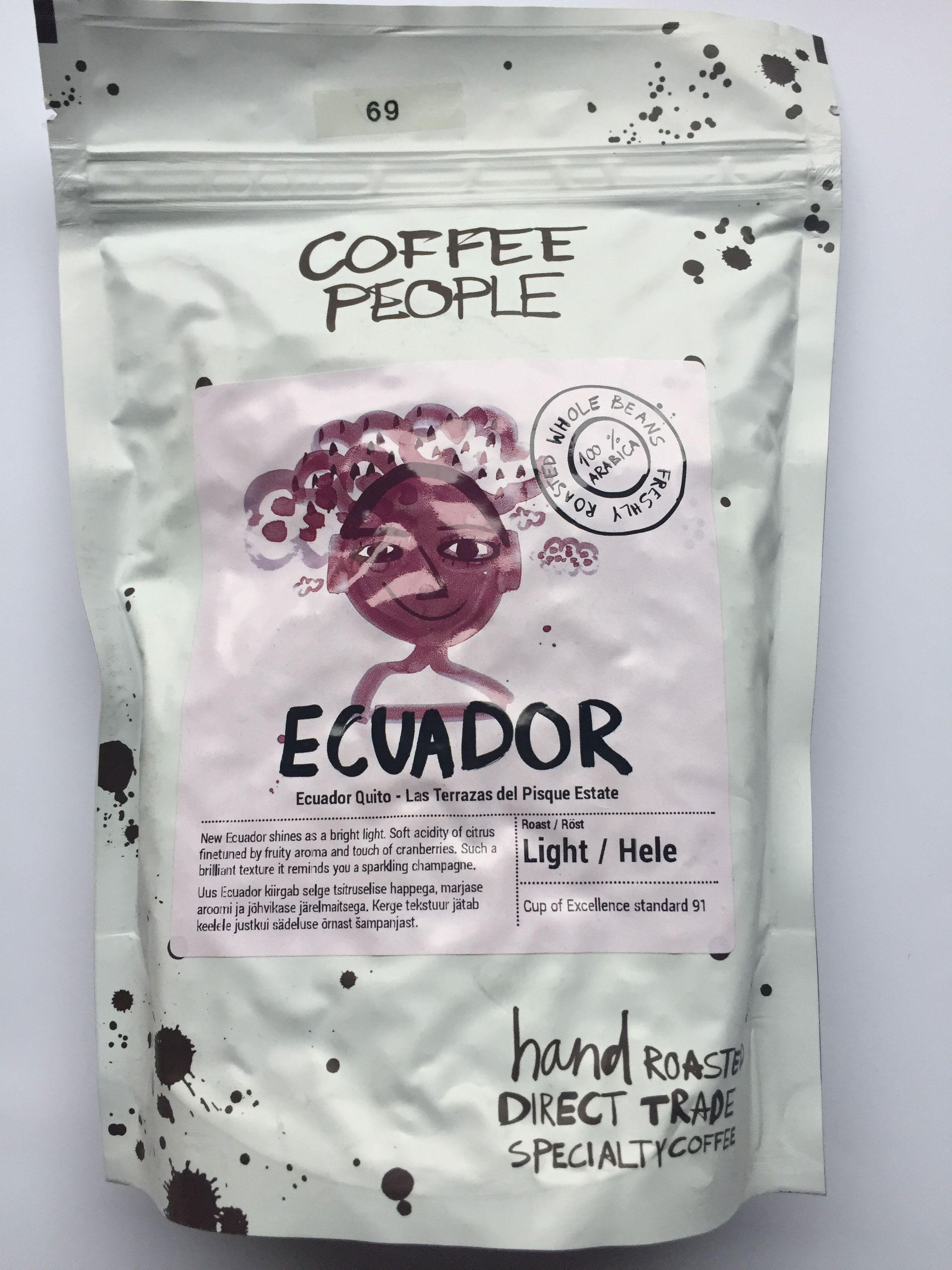 Coffee People Ecuador 250 gr